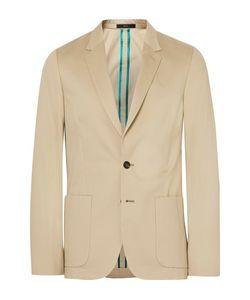 Paul Smith | Soho Slim-Fit Brushed-Cotton Suit Jacket