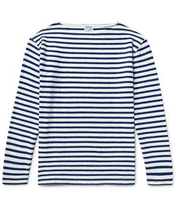 Orslow | Striped Slub Cotton-Jersey T-Shirt