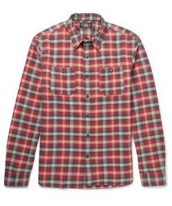 RRL | Tradesman Checked Cotton-Flannel Shirt