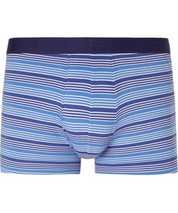 Derek Rose | Striped Stretch-Cotton Boxer Briefs