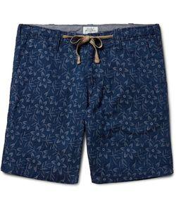Hartford | Slim-Fit Dyed Cotton-Jacquard Shorts