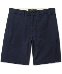 Freemans Sporting Club | Arc Cotton-Ripstop Shorts
