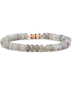 LUIS MORAIS | Bead And Ruby Bracelet Off-