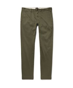 J.Crew | 484 Slim-Fit Stretch-Cotton Twill Chinos