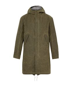 Freemans Sporting Club | Waxed-Cotton Hooded Parka With Detachable Liner
