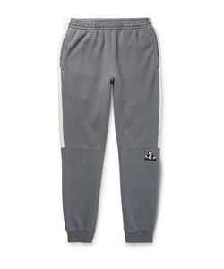 CAV EMPT | Slim-Fit Tapered Cotton-Jersey Sweatpants Gray