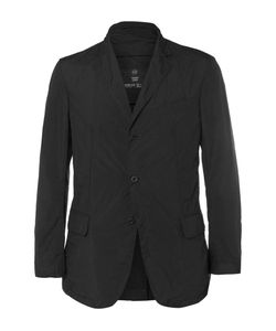 TEATORA | Beams Device Slim-Fit Packaway Shell Blazer Black