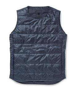 DESCENTE | H.C.S. Quilted Shell Down Gilet Blue