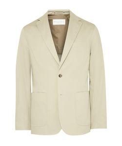 Private White V.C. | Beige Ecoseamreg Cotton-Gabardine Blazer Neutrals