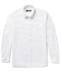 Freemans Sporting Club | Linen Shirt White