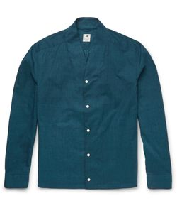 Sasquatchfabrix | Beams Cotton Shirt Blue