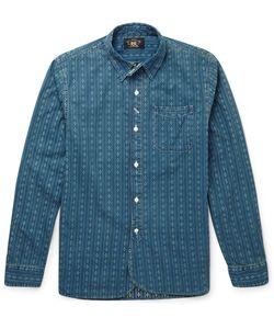 RRL | Slim-Fit Bulldog Cotton Shirt Blue
