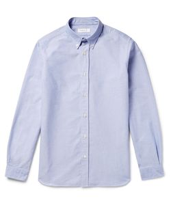 Several | Button-Down Collar Cotton Oxford Shirt Blue