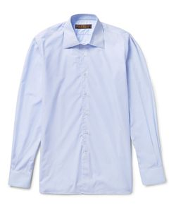 Freemans Sporting Club | Cotton-Poplin Shirt Blue