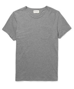 Oliver Spencer Loungewear | Supima Cotton-Jersey T-Shirt Gray