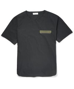Marvy Jamoke | Beams Cotton-Poplin T-Shirt Black