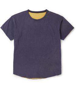 CHIMALA | Reversible Cotton-Jersey T-Shirt Blue