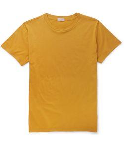 MARGARET HOWELL | Cotton-Jersey T-Shirt Yellow