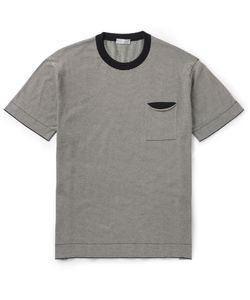 MARGARET HOWELL | Slim-Fit Striped Cotton T-Shirt Black