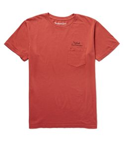 MOLLUSK | San Francisco Cotton-Jersey T-Shirt Red