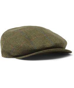 Musto Shooting | Calder Technical Tweed Flat Cap Green