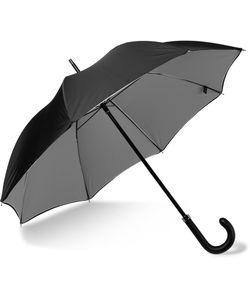 LONDON UNDERCOVER | Wood-Handle Umbrella Black