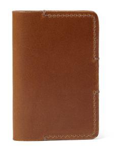 Tarnsjo Garveri   Icon Leather Bifold Cardholder Brown