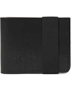 Atelier de L'Armée | Flight Leather Billfold Wallet Black