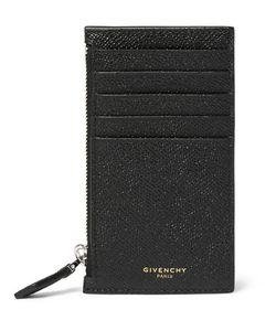 Givenchy | Cross-Grain Leather Card Holder Black