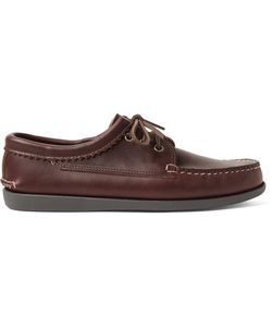 Quoddy | Leather Derby Shoes Brown
