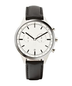 Uniform Wares | C41 Chronograph Stainless Steel Wristwatch Black