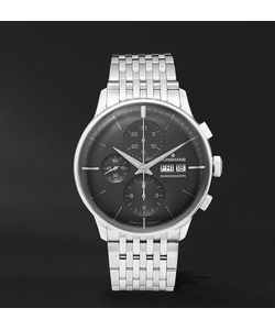 Junghans | Meister Chronoscope Stainless Steel Watch Silver