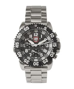 Luminox | Colourmark 3182 Stainless Steel Chronograph Watch Silver