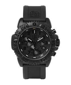 Luminox | Navy Seal Colormark 3081.Bo Series Carbon-Reinforced Chronograph Watch Black