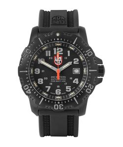Luminox | Anu 4221 Stainless Steel And Rubber Watch Black
