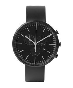 Uniform Wares | M42 Chronograph Pvd-Coated Stainless Steel And Rubber Wristwatch Black