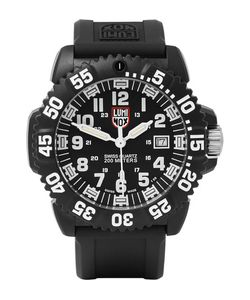 Luminox | Navy Seal Colormark 3051 Carbon-Reinforced Watch Red