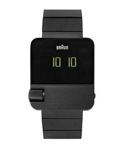 Braun | Bn0106 Stainless Steel Watch Black