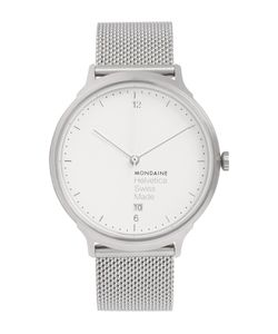 Mondaine | Helvetica No1 Light Stainless Steel Watch Silver