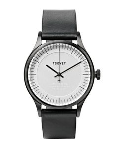 Tsovet | Jpt-C036 36mm Stainless Steel And Leather Watch Metallic