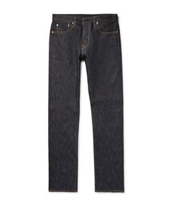 The Workers Club | Slim-Fit Raw Selvedge Denim Jeans Blue