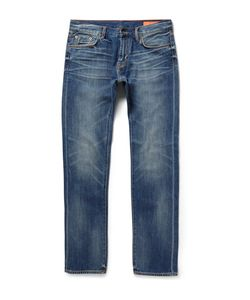 JEAN SHOP | Mick Slim-Fit Japanese Selvedge Denim Jeans Blue