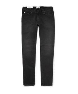 Acne | Thin Skinny-Fit Stretch-Denim Jeans Black