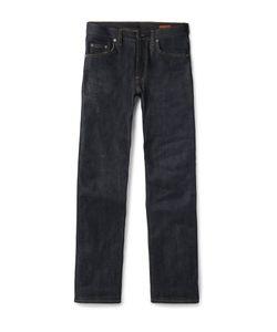 Albam | Raw Selvedge Denim Jeans Blue