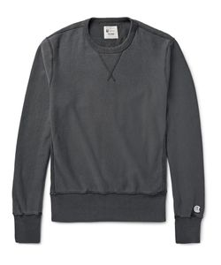 Todd Snyder + Champion | Loopback Cotton-Jersey Sweatshirt Gray