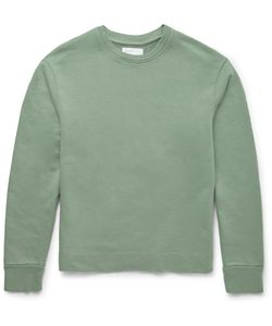 Several | Beva Loopback Cotton-Jersey Sweatshirt Green