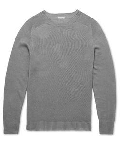MARGARET HOWELL | Linen And Cotton-Blend Sweater Gray