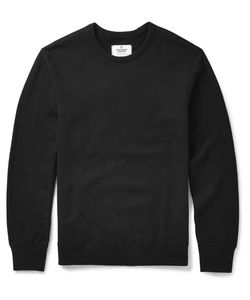 Reigning Champ | Slim-Fit Cotton-Jersey Sweatshirt Black