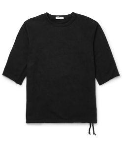 NONNATIVE | Dweller Drawstring-Hem Loopback Cotton-Jersey Sweatshirt Black