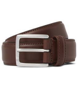 ANDERSON'S | 3cm Brown Leather Belt Brown